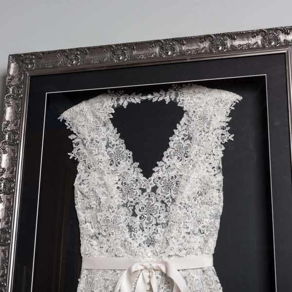 Wedding Dress Framing How To Frame Your Wedding Dress Wedding