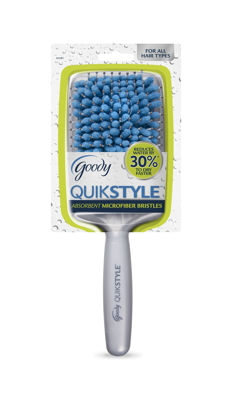 Summer's short. Who wants to spend time styling hair when you could be outside enjoying life? You can get those locks dry faster than ever with the Goody Quik Style Paddle Brush, $12, CVS, Target and Walgreens, metro Detroit locations. Designed for detangling and drying wet hair, this paddle brush has super-absorbent microfiber bristles that make it like having a towel and brush in one.