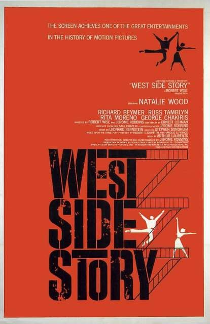 WEST SIDE STORY Natalie Wood. Movie Poster Print by BloominLuvly, $7.95