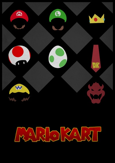 Mario Kart  by Jynxit