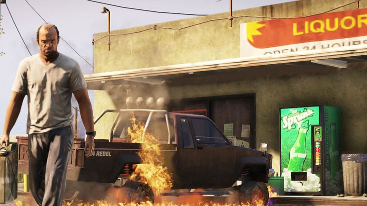 SWEATING THE SMALL STUFF: WHY GTA V IS ONE OF THE MOST THOUGHTFUL CREATIVE ENDEAVORS EVER