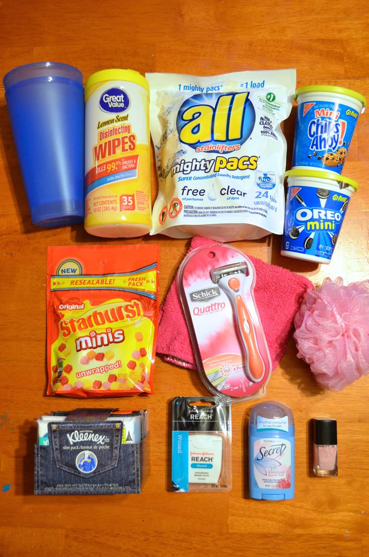 College Care Package Ideas for Girls