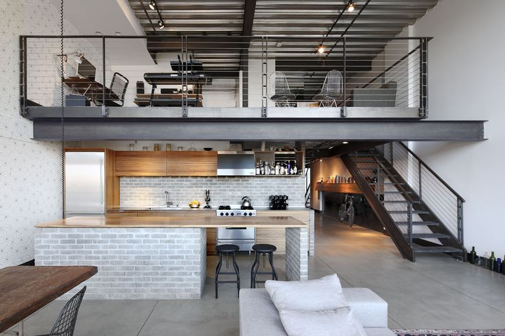 SHED Architecture & Design - Modern Architects Seattle - Capitol Hill Loft  /  SHED Architecure & Design  /   Seattle Modern Remodel  /  Interior