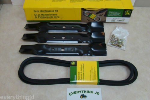 John Deere GY21087 Deck Maintenance Kit for 48 L120 L130 Mowers JM545744565467341153780 -- You can get more details by clicking on the image.