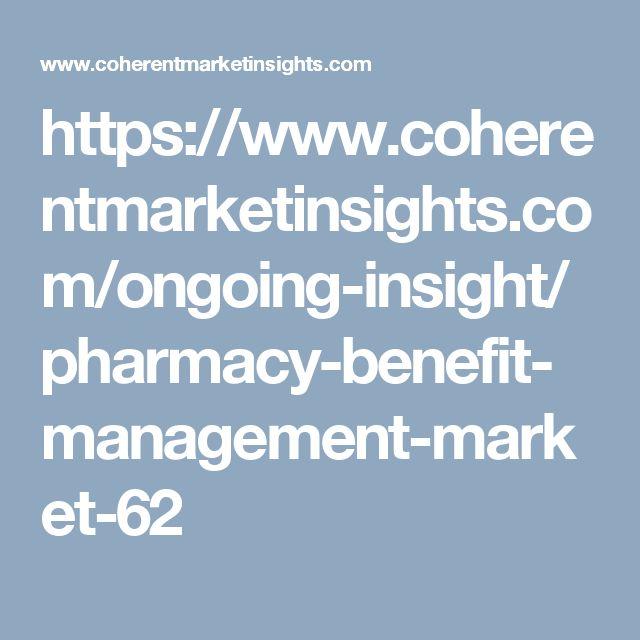 https://www.coherentmarketinsights.com/ongoing-insight/pharmacy-benefit-management-market-62