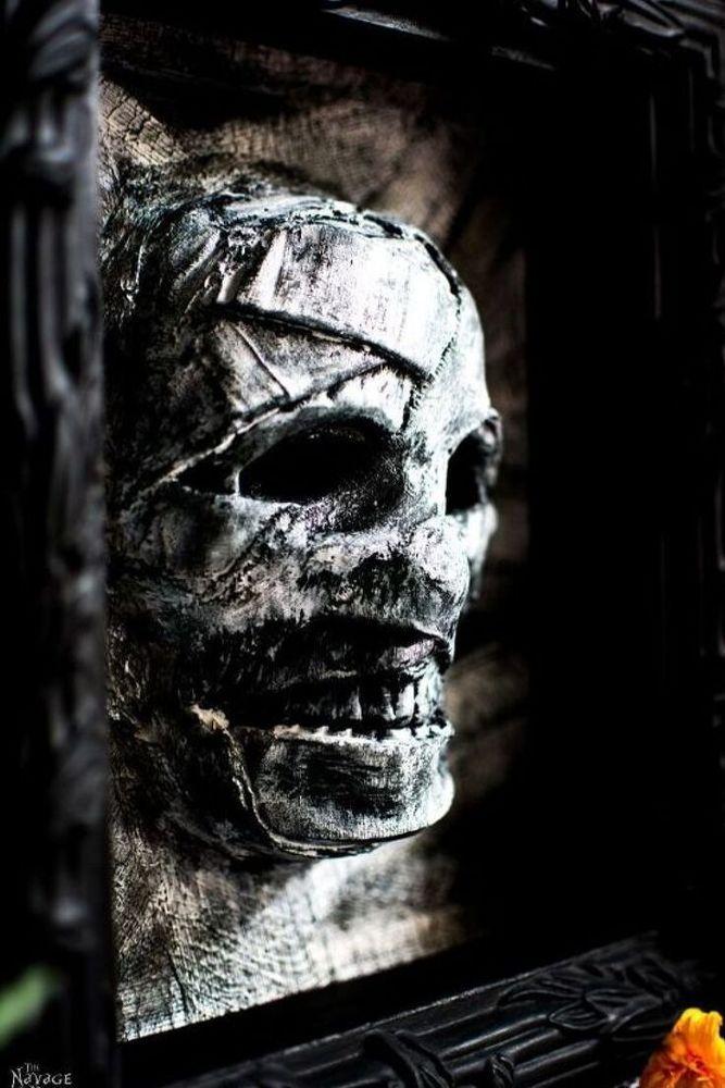 Budget Friendly Halloween Mummy Decor