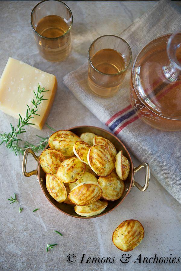 Savory Parmesan-Herb Madeleines   http://lemonsandanchovies.com