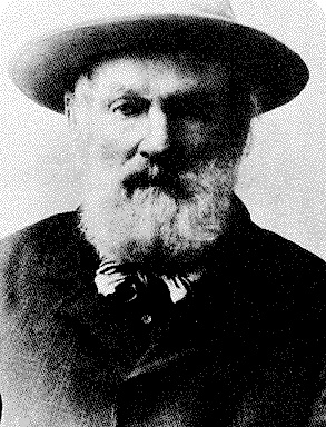 Billy Barker,an English prospector famous for being one of the first to find a large amount of gold. Also the founder of Barkerville,which is now a historic town. Although he struck it rich,he died penniless,and was buried in a pauper's grave in Victoria,in 1894.