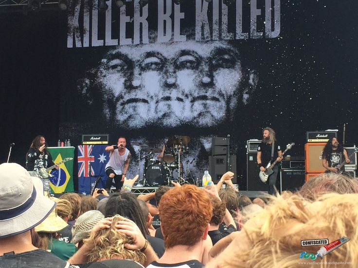 Killer Be Killed. The 2015 Soundwave Music Festival in Sydney--> http://www.confiscatedtoothpaste.com/the-2015-soundwave-music-festival-in-sydney/