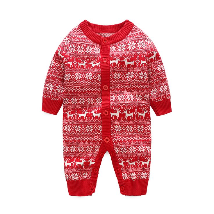 Victory! Check out my new Festive Snowflake and Reindeer Pattern Knit Jumpsuit for Baby, snagged at a crazy discounted price with the PatPat app.