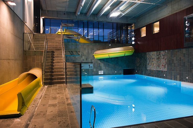 Nordlysbadet- Alta. Swimming Pool Norway