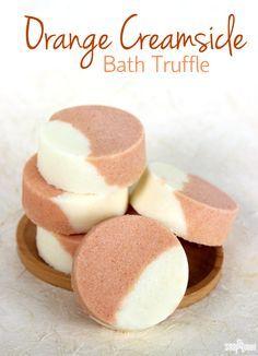 Orange Dreamsicle Bath Truffle Recipe