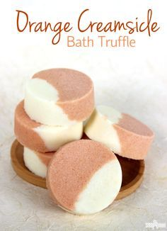Orange Dreamsicle Bath Truffle Recipe