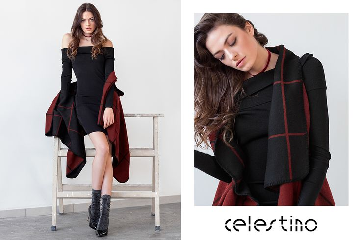 The art of seduction uncovered in two simple steps: a dress and a cape. #styletips #Celestino #ootd celestino.gr