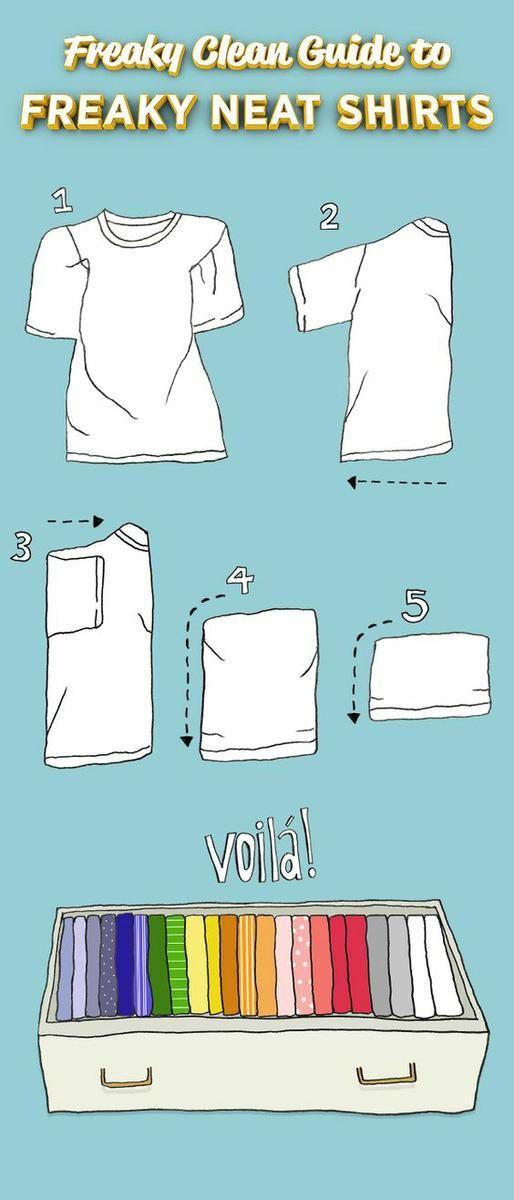 28 trucos para organizar los cajones de tu guardarropa   Decoración