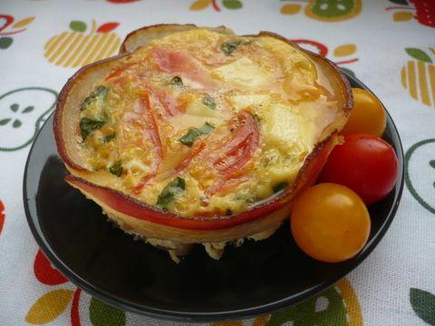 """Vaječné muffiny. Super snídaně, nejlepší bývá varianta """"co dům dal""""."""
