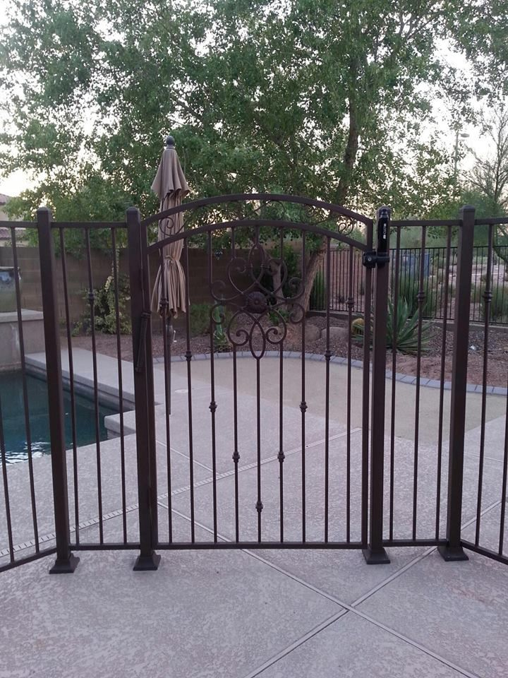 Pool gate for security and safety. #poolsafety  #poolgates