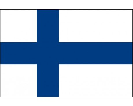 This the flag of Finland.Finland is a country.