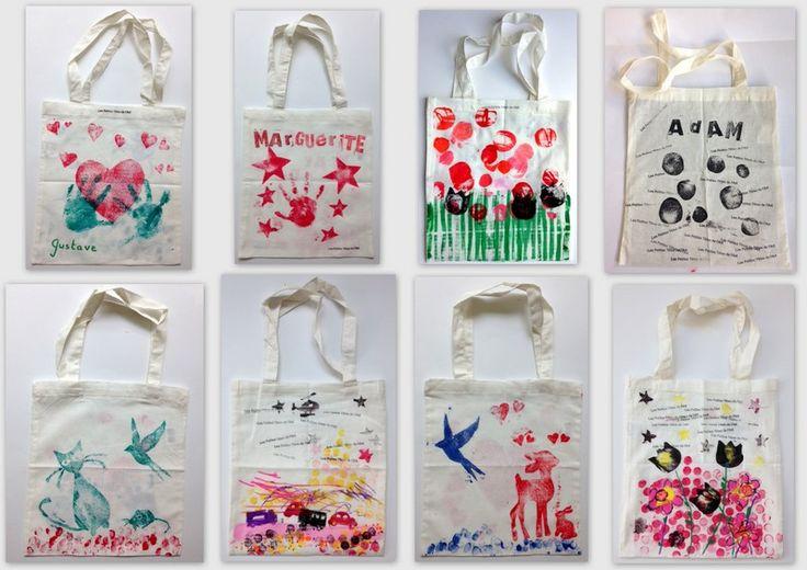 les petites têtes de l'art: Mon tote Bag de fin d'année