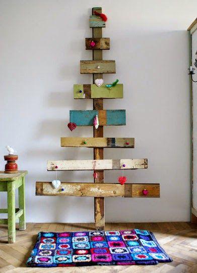 20 Alternativas para el árbol de navidad! | Decorar tu casa es facilisimo.com