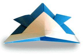 Origami Samurai Hat