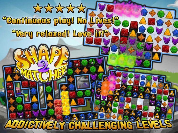 Shape Matcher 2 Best Diamond Match3 Scramble Scramble