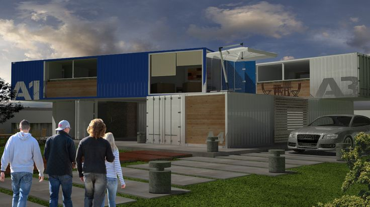 Container lofts!!! #arquitecture #container #lofts