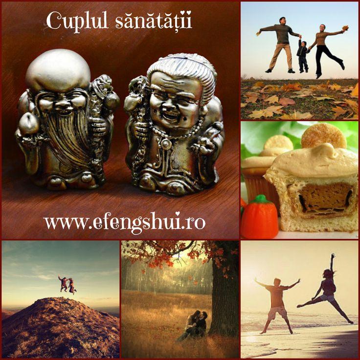 Cuplul sănătății și al longevității - Zeul Sau Sing Kung și Zeița Sau Sing Poh. Se spune că prezența lor în casă atrage o bună sănătate și o viață ușoară și lungă atât pentru bărbat, cât și pentru femeie. Amândoi poartă un toiag cu cap de dragon, o piersică într-o mână și/sau un wu lou în cealaltă, umplut cu nectarul imortalității. Zeul longevității...http://www.efengshui.ro/produse/zeul-si-zeita-longevitatii.php