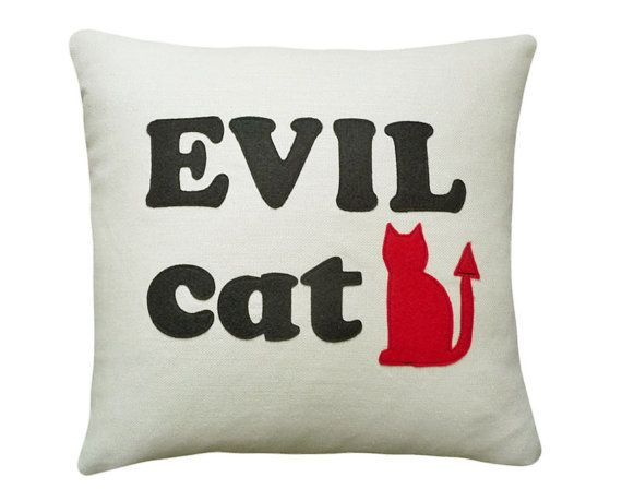 Because evil cat is a reality for me.