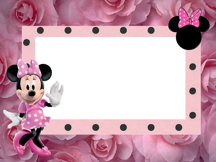 Fazendo a Minha Festa!: Minnie Rosa - Kit Completo com molduras para convites, rótulos para guloseimas, lembrancinhas e imagens!