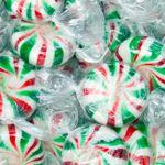Mmm minty goodness with Christmas pinwheels www.lollymail.com.au/lollies