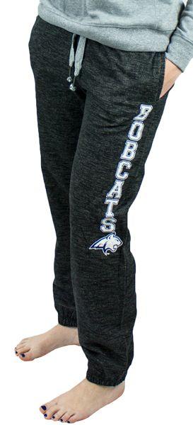 Women's Sweatpants, MSU Bobcats, Vintage Charcoal Gray | MSU Bookstore