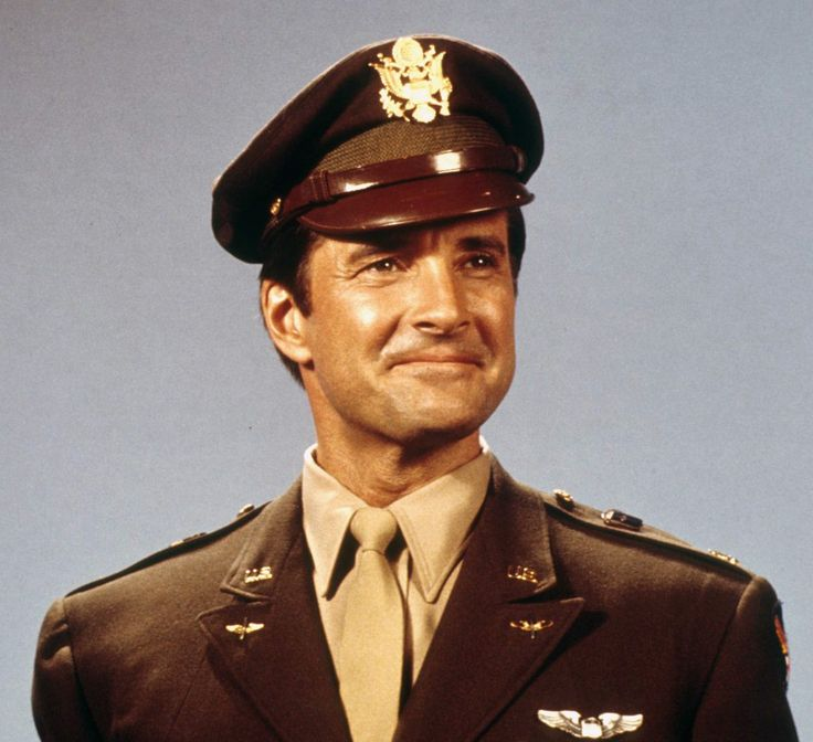 Lyle Waggoner as Major Steve Trevor is ready for action to help keep the enemy in all forms out of America!