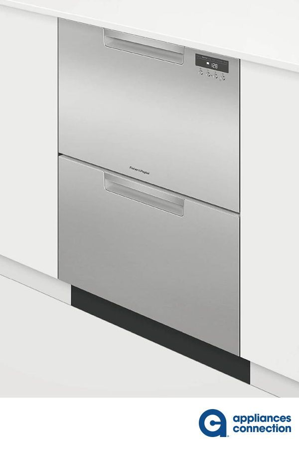 Fisher Paykel Dd24dab9n 24 Inch Black Drawer Full Console Dishwasher Home Appliances Double Drawer Dishwasher Drawer Dishwasher