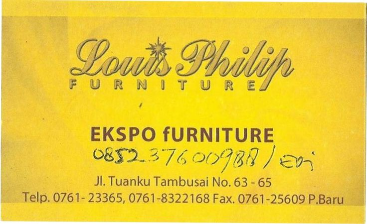 Louis Philip Furniture