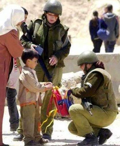 La vida diaria de un niño palestino en los territorios ocupados. #FreePalestine