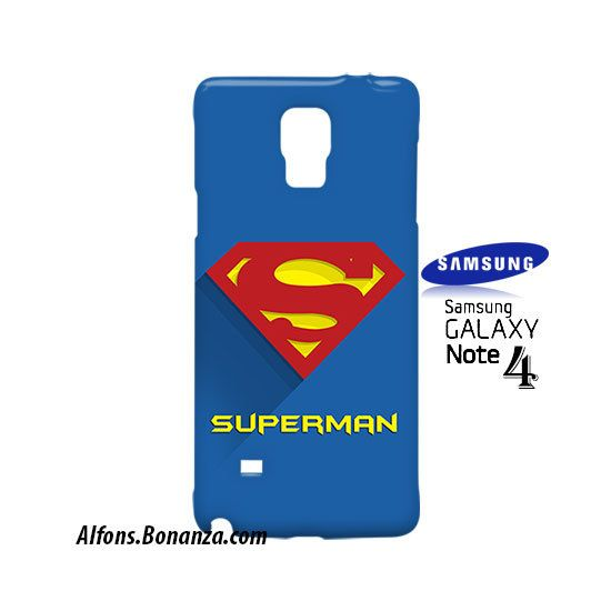 Superman Superhero Samsung Galaxy Note 4 Case