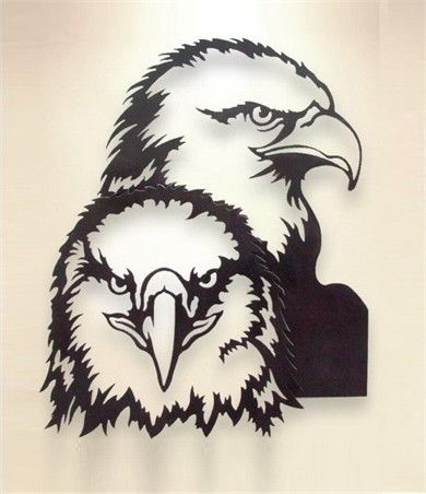Eagle Metal Wall Art