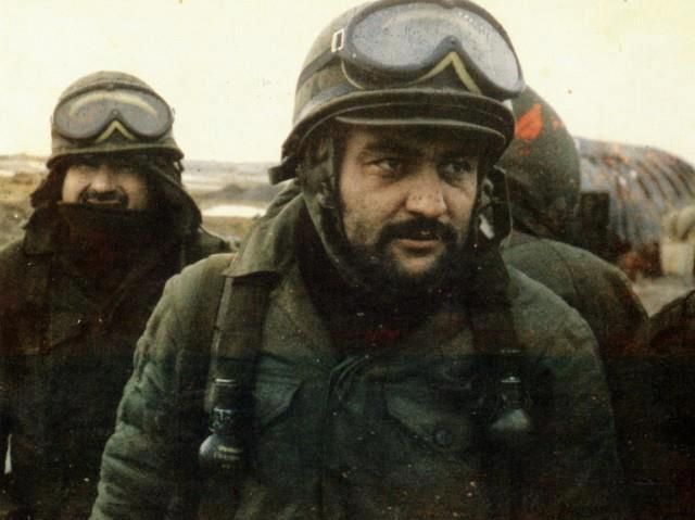 Argentinian soldiers.    Falklands War.