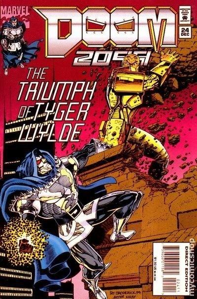 Bagged And Boarded Bullet Reviews 2 Doom 2099 Ghost Rider Sleepwalker