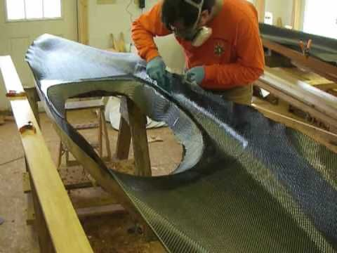 Hand-Laying Carbon Fiber - YouTube