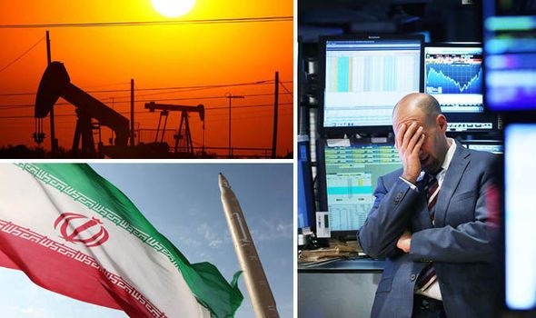 Stock market CRASH: £27 BILLION wiped off investments as Iran sparks oil price war  STOCK markets across the Middle East COLLAPSED today as the lifting of sanctions on Iran prompted fears of a huge oil price war.  By NICK GUTTERIDGE PUBLISHED: 00:11, Mon, Jan 18, 2016