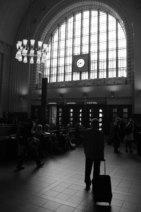 Helsinki Train Station, Helsinki, Finland