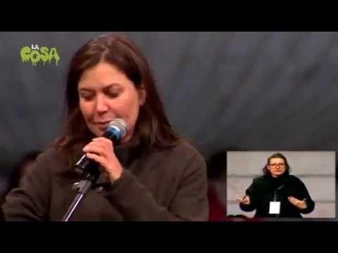 Sabina Guzzanti alla Notte dell'Onestà - INTEGRALE