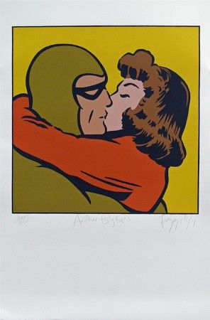 Another Big Kiss by Dick Frizzell for Sale - New Zealand Art Prints