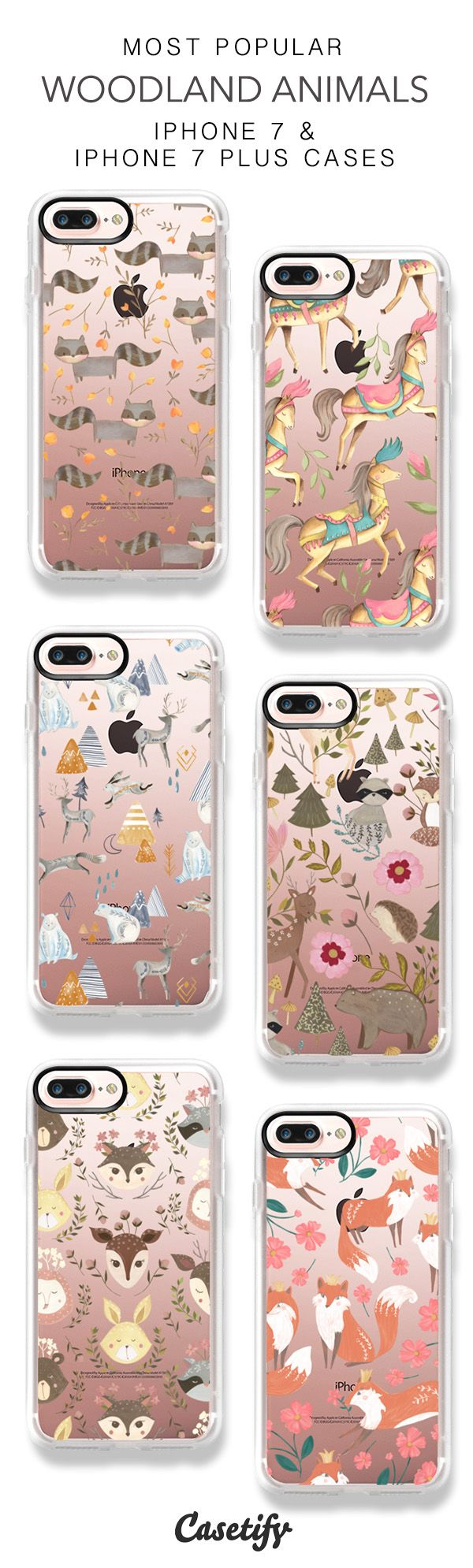 Most Popular Woodland iPhone 7 Cases & iPhone 7 Plus Cases here > https://www.casetify.com/biancapozzi/collection
