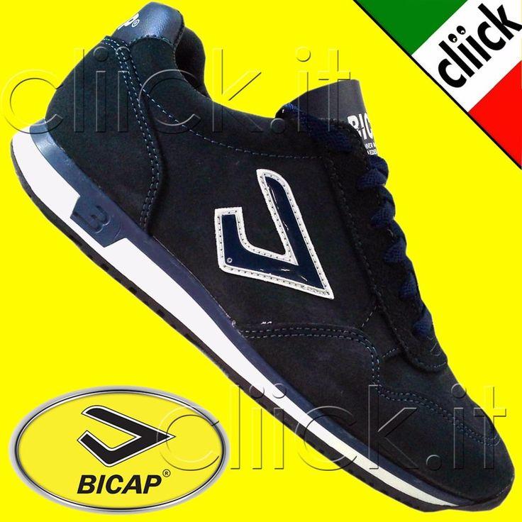 Scarpe Bicap Old Classic Sneakers Tennis Sport tempo libero ginnastica corsa