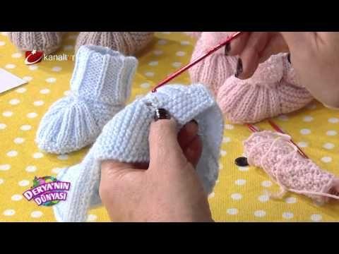 Bebek Patik yapımı - Derya Baykal - Deryanın Dünyası - YouTube