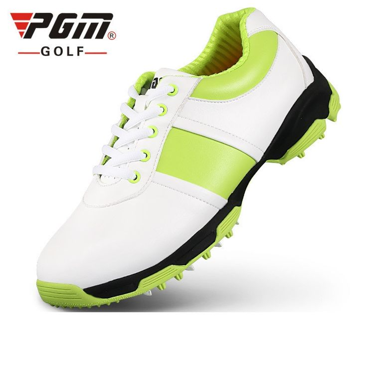 (131.88$)  Buy here - http://ai5dx.worlditems.win/all/product.php?id=32725829619 - Ultra Shoes Sale Women 2017 New Female Models Pgm Golf Shoes Anti-skid Microfiber Leather Patent, 3d Patented Air Guide Groove