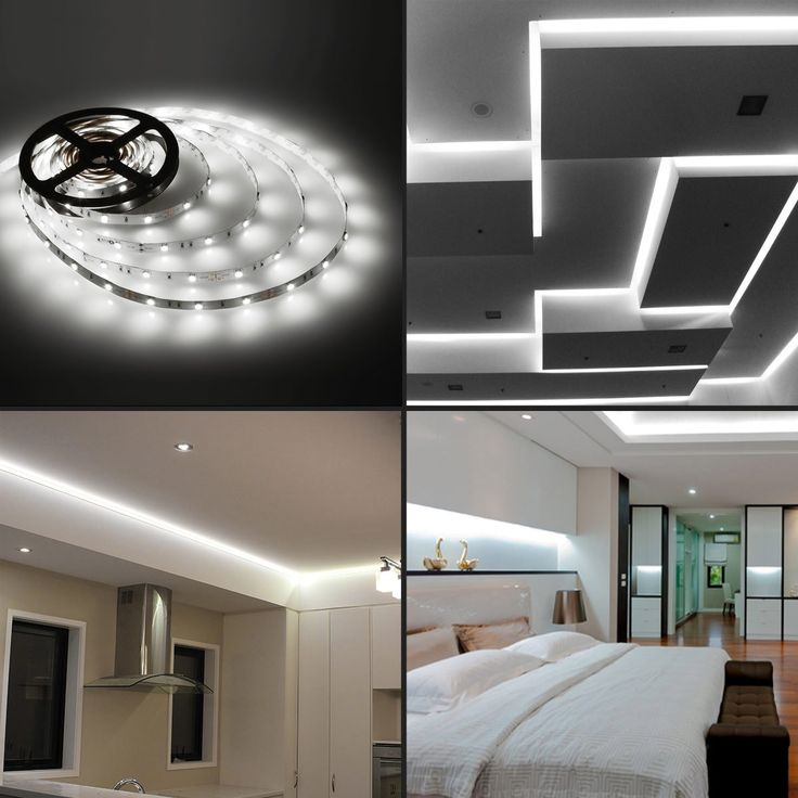 12V LED Strips, Dimmbar, Kaltweiß, 5050 SMD, Non-wasserdicht, 5M | LE